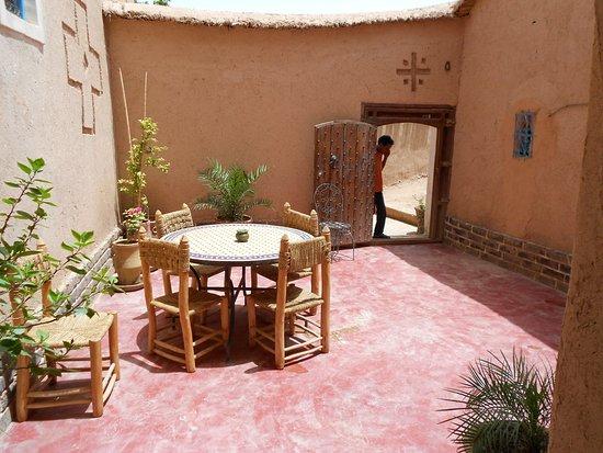 El Kelaa, Marruecos: Terrasse de la Kasba
