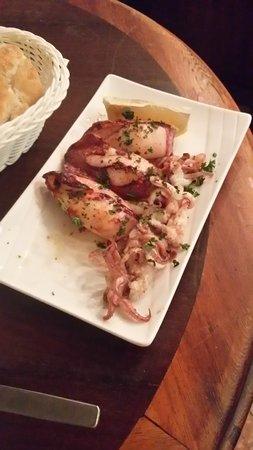 Cool Breeze Cafe Bar : calamares a la plancha