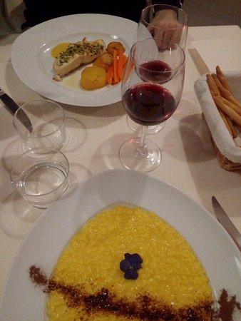 San Secondo di Pinerolo, Italia: piatti