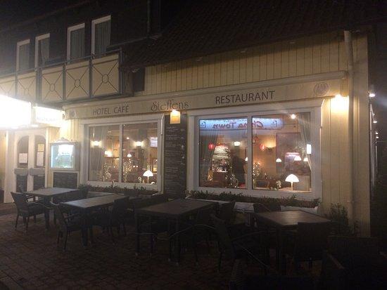 Hotel Cafe - Restaurant Steffens: Aussenansicht