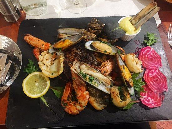 Istres, France: Assiette du pêcheur