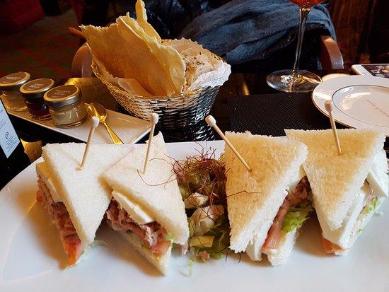 Hassler Bar: Lovely sandwiches