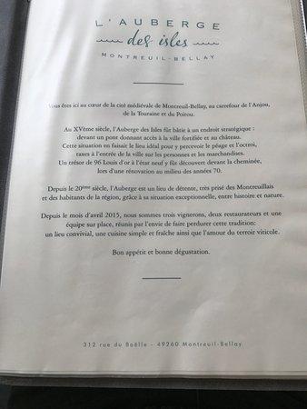 Montreuil-Bellay, Francia: Un maison avec de beau principes et une belle histoire