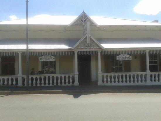 Colesberg, แอฟริกาใต้: entrance