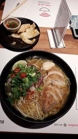 Photo of Japanese Restaurant Wagamama at Keyserlei, Antwerp, Belgium