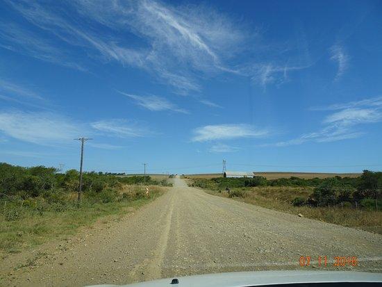 Witsand, جنوب أفريقيا: The main road