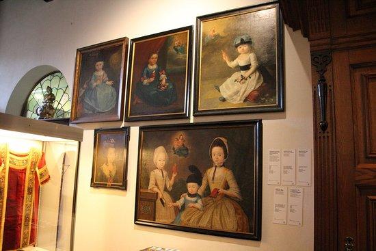 Onze-Lieve-Vrouw ter Potterie: Paintings of children