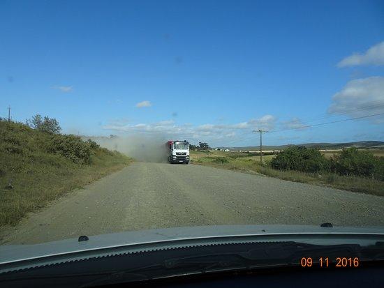 Witsand, جنوب أفريقيا: Beware the lorries