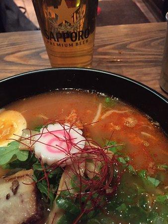 Photo of Japanese Restaurant Kuu Ramen at 20 John St, New York City, NY 10038, United States