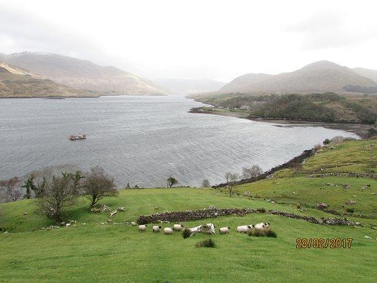 Leenane, Ιρλανδία: la vue