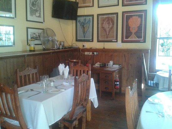 Nieu-Bethesda, Νότια Αφρική: inside restaurant
