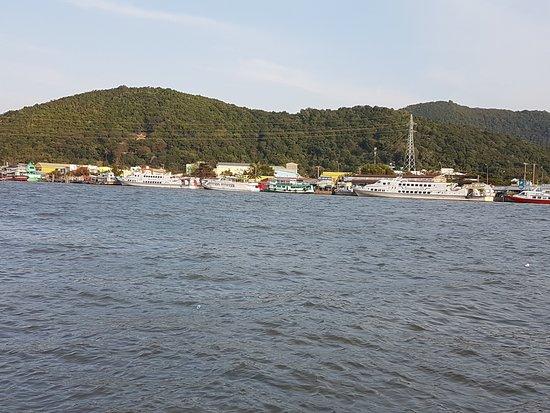Ha Tien, Vietnam: Vue sur la rivière