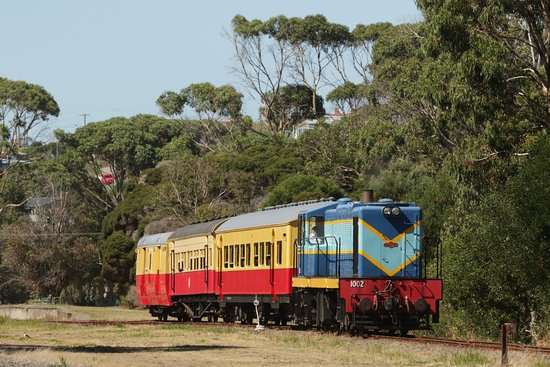 Devonport, Australia: Cute little train