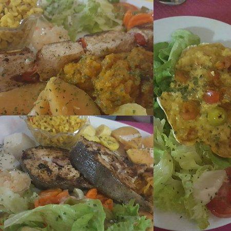 Trois Rivieres, Guadeloupe: Grilled Fish & Brochette de Marlin