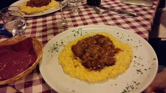 Risotto ed ossobuco picture of osteria la piola milan for Best risotto in milan
