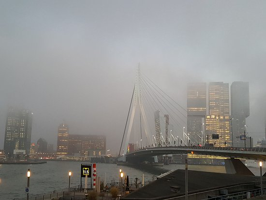 Photo of Monument / Landmark Erasmus Bridge at Erasmusbrug, Rotterdam 3072 AP, Netherlands