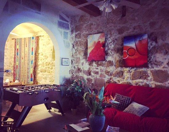 soggiorno/angolo relax - Picture of Gozo A Prescindere B&B, Nadur ...