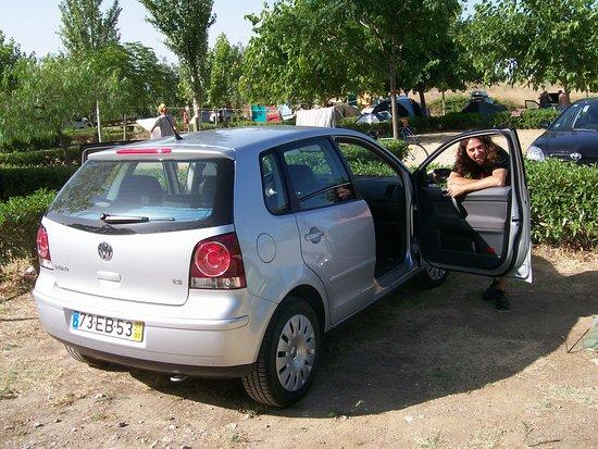 Parque de campismo Orbitur Evora: La nostra piazzola: molto spazio, molto comoda