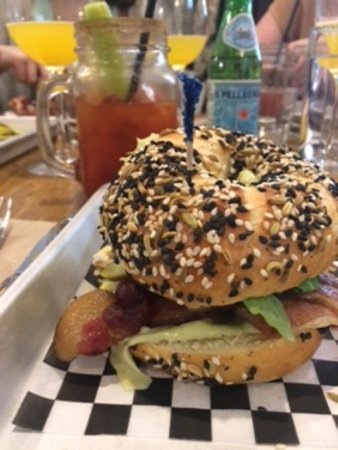 Dartmouth, Kanada: The hangover breakfast sandwich