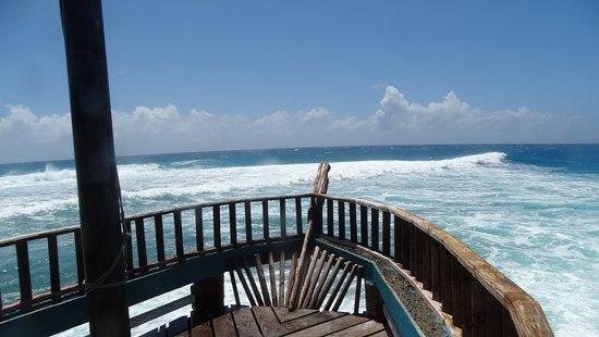 Punta Sur: Mirante em forma de barco