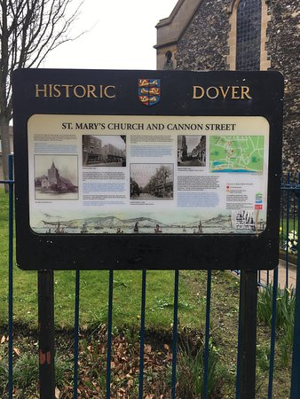 Dover, UK: label
