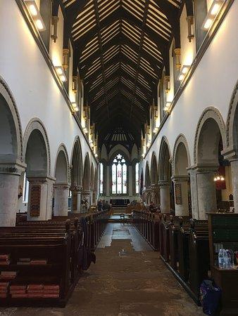 St Mary's Church : interior