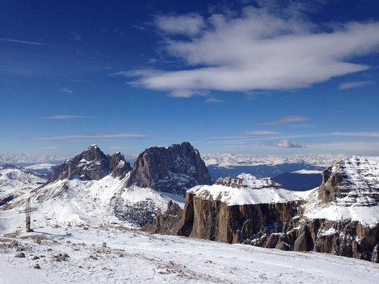 Canazei, Italy: vista dalla cima