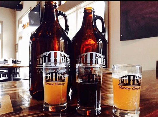 Parsonsburg, Maryland: Growlers and tasters
