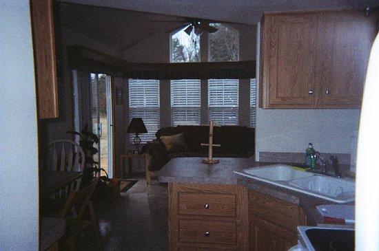 Frankston, تكساس: tuscany/interior