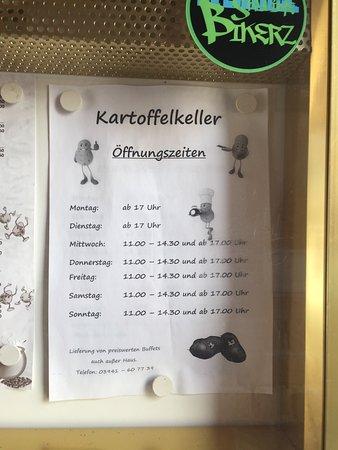 Halberstadt, Tyskland: Kartoffelkeller