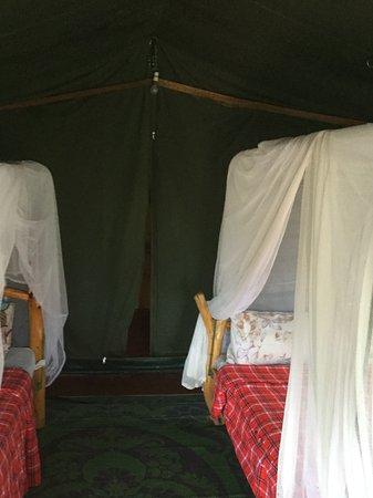 Masai Mara Manyatta Camp : Inside our room