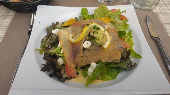 Margencel, France: salade Léman
