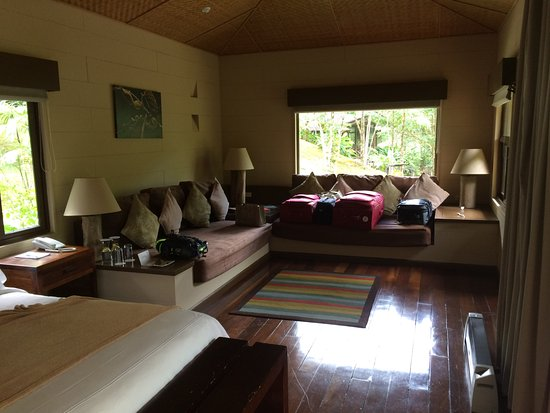 El Silencio Lodge & Spa: View of living area