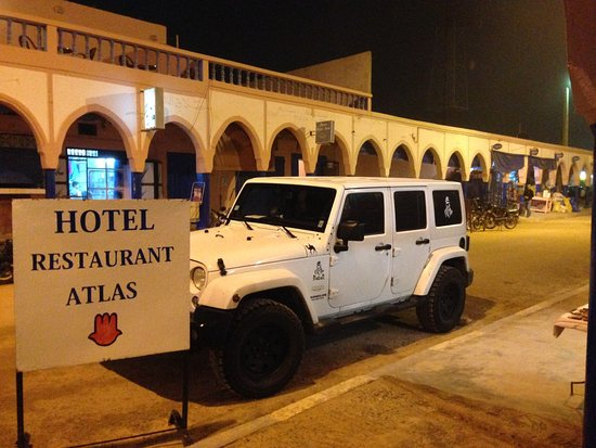 Hotel Restaurant Atlas: Hoel restaurant centre ville