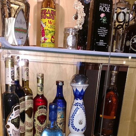 Chalfont, PA: exotic drinks shelf