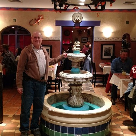Chalfont, PA: me at their fountain