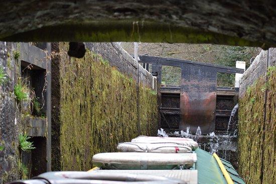 Brecon, UK: Heading into the Lock