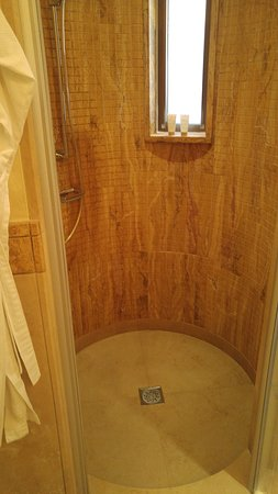 Kempinski Hotel Ishtar Dead Sea: Shower Stall