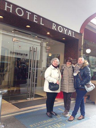 Hotel Royal: Chegada