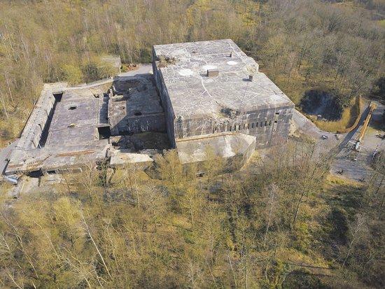 Eperlecques, Francja: vue d'ensemble du bunker