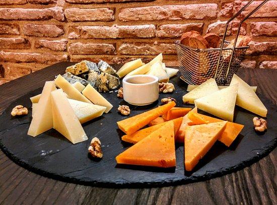 El Masnou, Spanien: Tabla de quesos