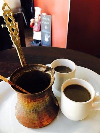 Kirkland, WA: Fresh Brewed Turkish Coffee