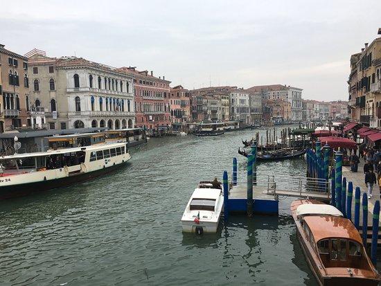 Photo of Bridge Ponte di Rialto at Rialto Vaporetto Stop, Venice 31024, Italy