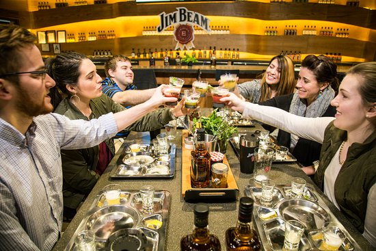 Jim Beam Urban Stillhouse: Stop by in a group or by yourself and treat yourself to Table-side cocktail experience