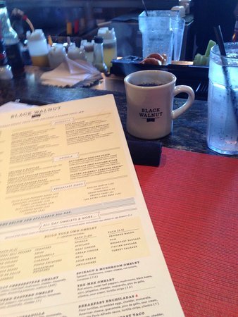 Katy, TX: Menu & coffee - then breekie