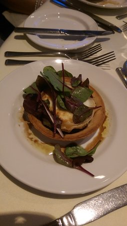 Overstone, UK: Wedding breakfast veggie starter
