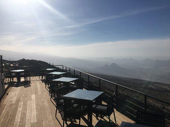 The View: Breakfast/dinner terrace