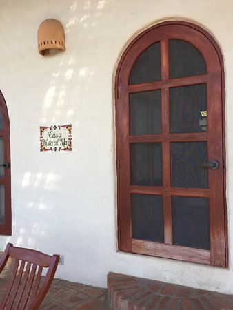 Pelican Eyes Resort & Spa: front door of unit Casa Vista al Mar