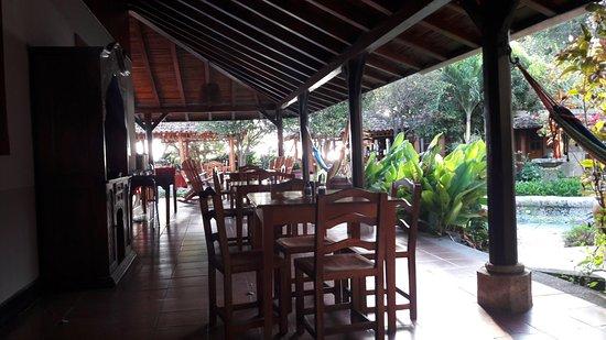 Altagracia, Nicaragua: Breakfast area