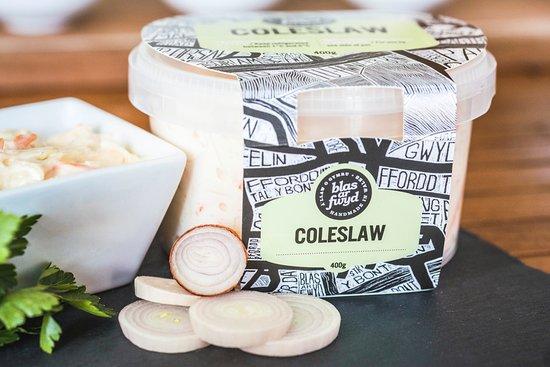 Llanrwst, UK: Blas ar Fwyd Coleslaw